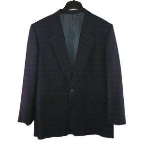 Giorgio Armani Blazer 40R Vintage Wool Suit Jacket